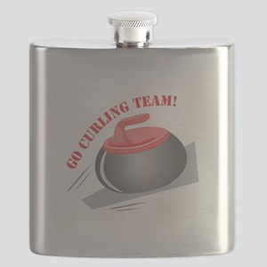 Go Curling Team Flask