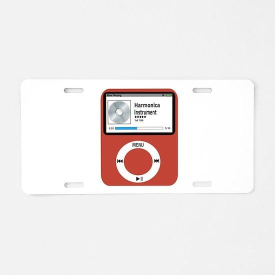 Ipad Hormonica Aluminum License Plate
