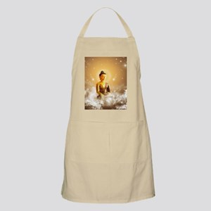 Buddha with clouds and stars Apron