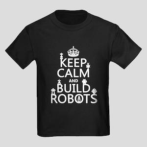 Keep Calm and Build Robots T-Shirt