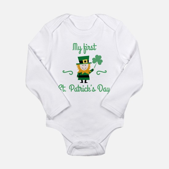 My First St. Patrick's Day Baby Outfits