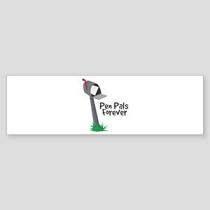 Pen Pals Forever Bumper Sticker