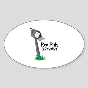 Pen Pals Forever Sticker