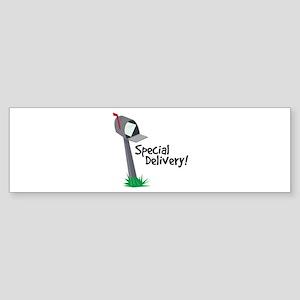 Special Delivery Bumper Sticker
