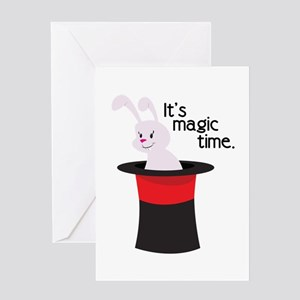 Its Magic Time Greeting Cards