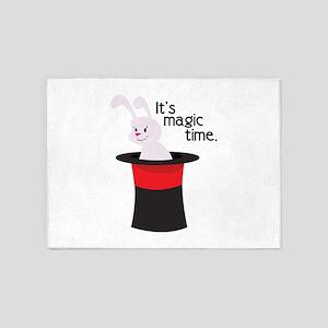 Its Magic Time 5'x7'Area Rug