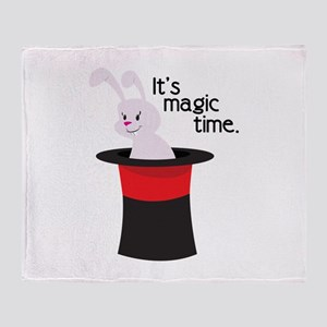 Its Magic Time Throw Blanket