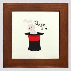Its Magic Time Framed Tile