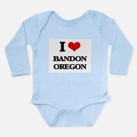 I love Bandon Oregon Body Suit