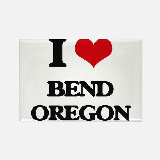 I love Bend Oregon Magnets
