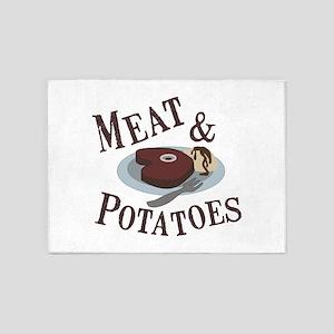 Meat & Potatoes 5'x7'Area Rug