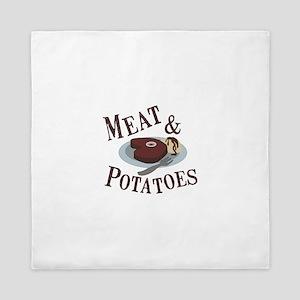Meat & Potatoes Queen Duvet