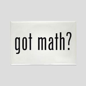 got math? Rectangle Magnet