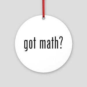 got math? Ornament (Round)