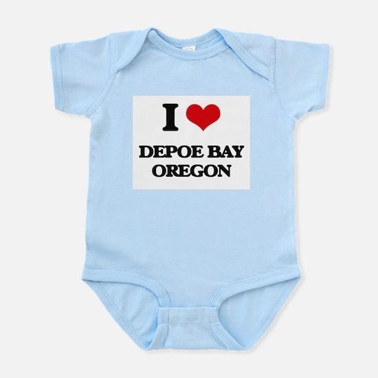 I love Depoe Bay Oregon Body Suit