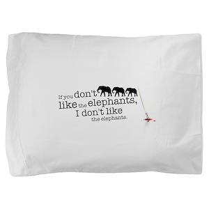 If you don't like the elephants Pillow Sham