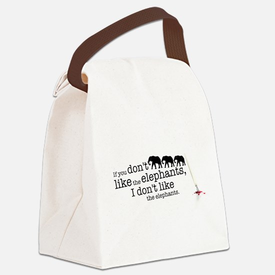 If you don't like the elephants Canvas Lunch Bag
