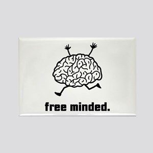 Free Minded Rectangle Magnet