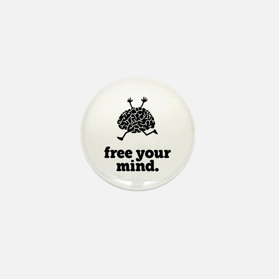Free Your Mind Mini Button