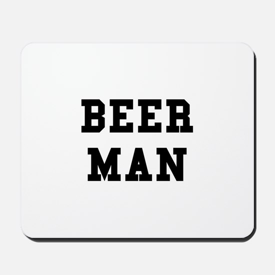 Beer Man Mousepad