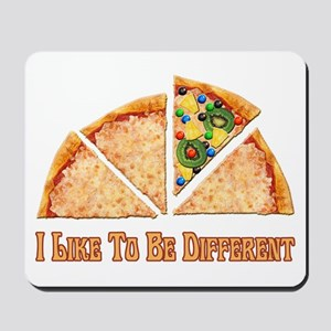 I like to be different Mousepad
