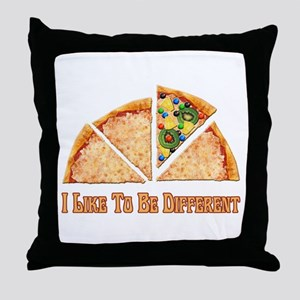 I like to be different Throw Pillow