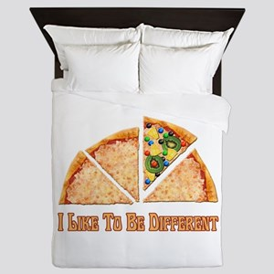 I Like To Be Different Queen Duvet