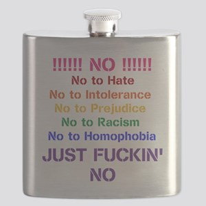 No to Hate Flask