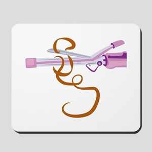 Curling Iron Mousepad