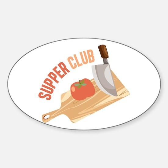 Supper Club Decal