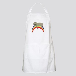 Sloth On Rainbow Apron