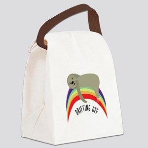 Drifting Off Canvas Lunch Bag