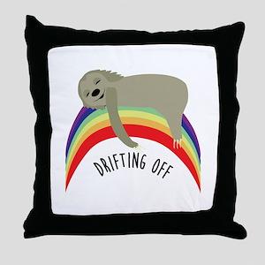 Drifting Off Throw Pillow
