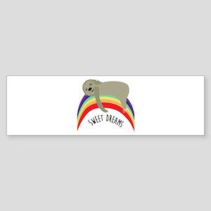 Sweet Dreams Bumper Sticker