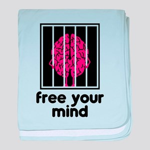 Free Your Mind baby blanket