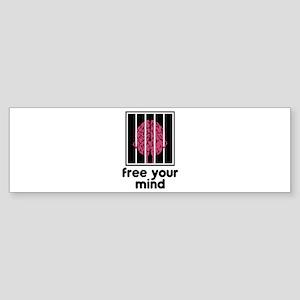 Free Your Mind Sticker (Bumper)