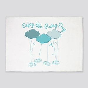 Rainy Day 5'x7'Area Rug