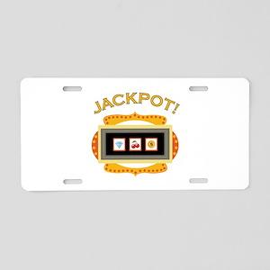 Jackpot! Aluminum License Plate