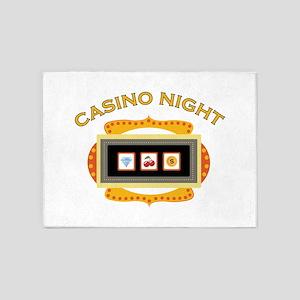 Casino Night 5'x7'Area Rug