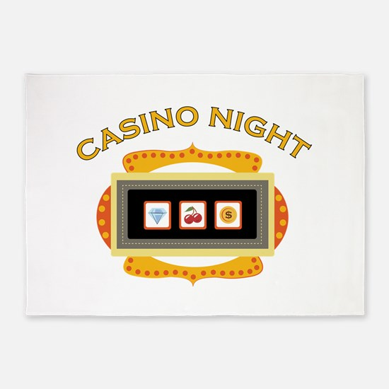 Casino Night 5'x7'Area Rug