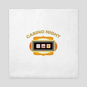 Casino Night Queen Duvet