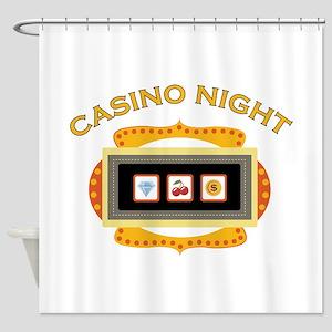 Casino Night Shower Curtain