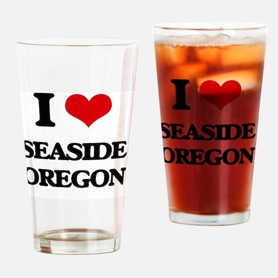 I love Seaside Oregon Drinking Glass