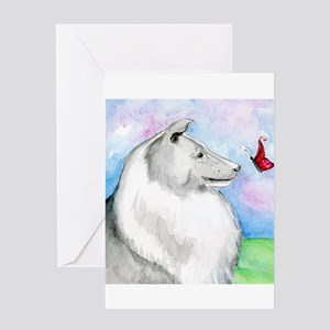 Sheltie Shetland Sheepdog Greeting Card