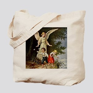 Holy Guardian Angel Tote Bag