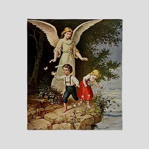 Holy Guardian Angel Throw Blanket