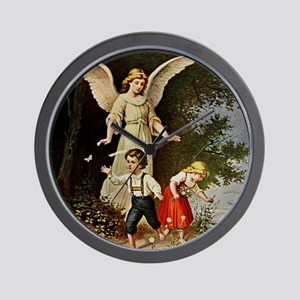 Holy Guardian Angel Wall Clock
