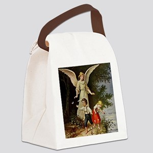 Holy Guardian Angel Canvas Lunch Bag