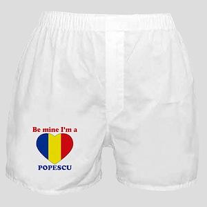 Popescu, Valentine's Day  Boxer Shorts
