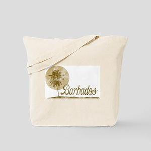 Palm Tree Barbados Tote Bag